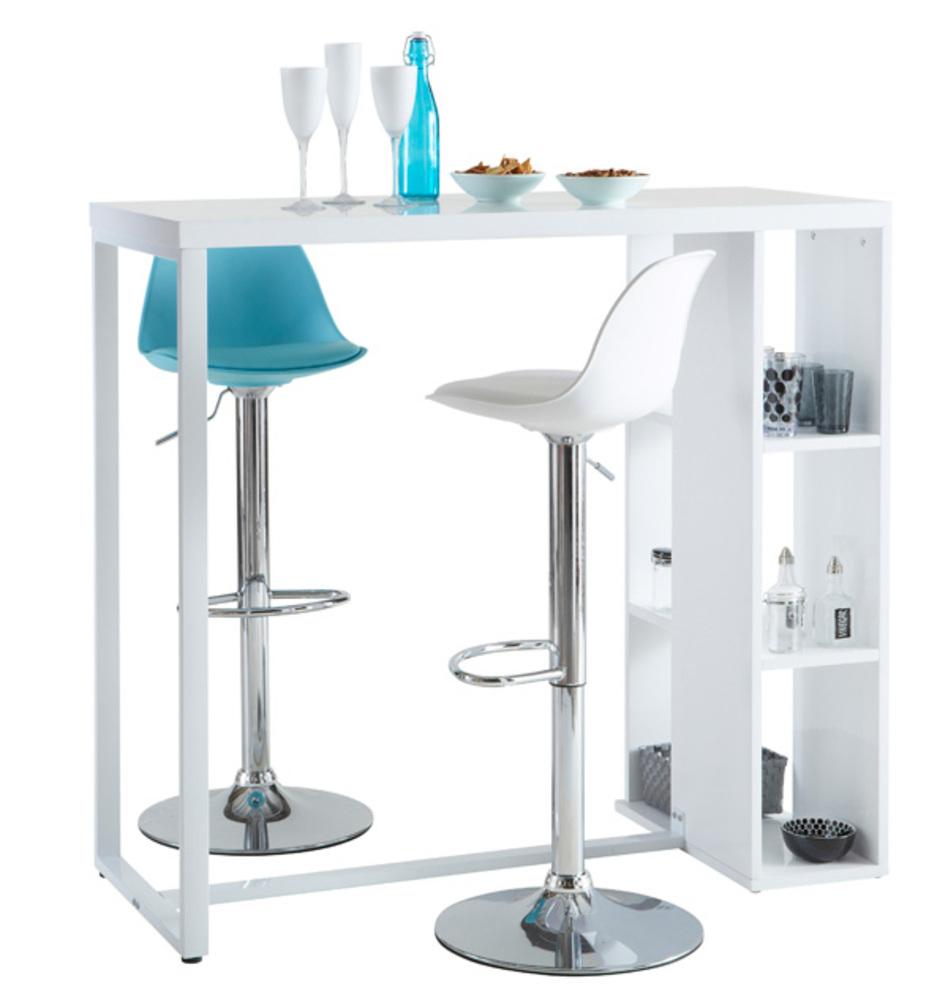 Mobilier de bar avec chaises hautes design