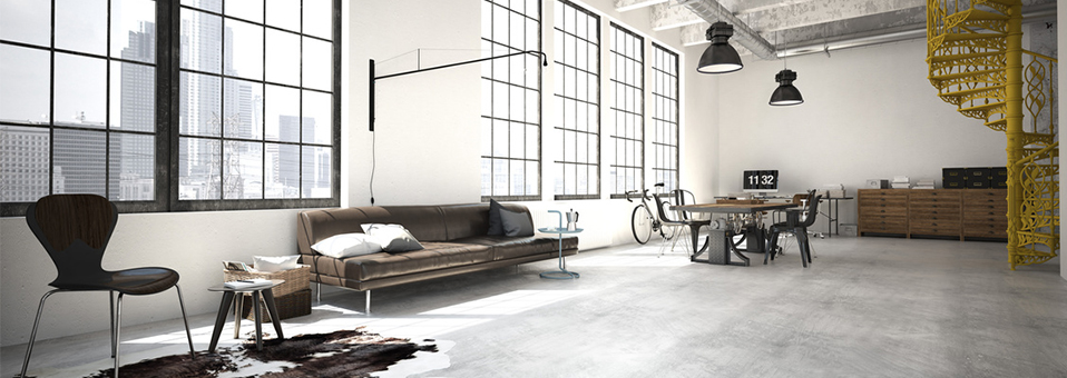 decoration industrielle loft