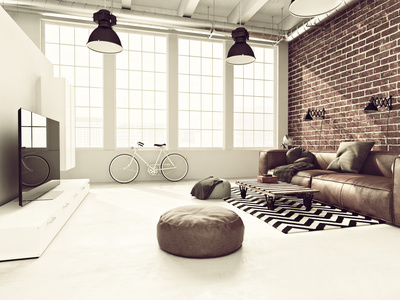 la d coration loft industriel r siste au fil du temps. Black Bedroom Furniture Sets. Home Design Ideas