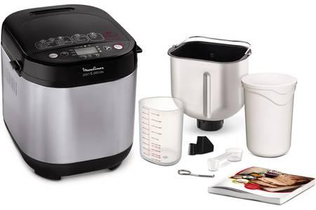 machine à pain moulinex avec accessoires