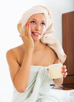 crème beauté pour visage