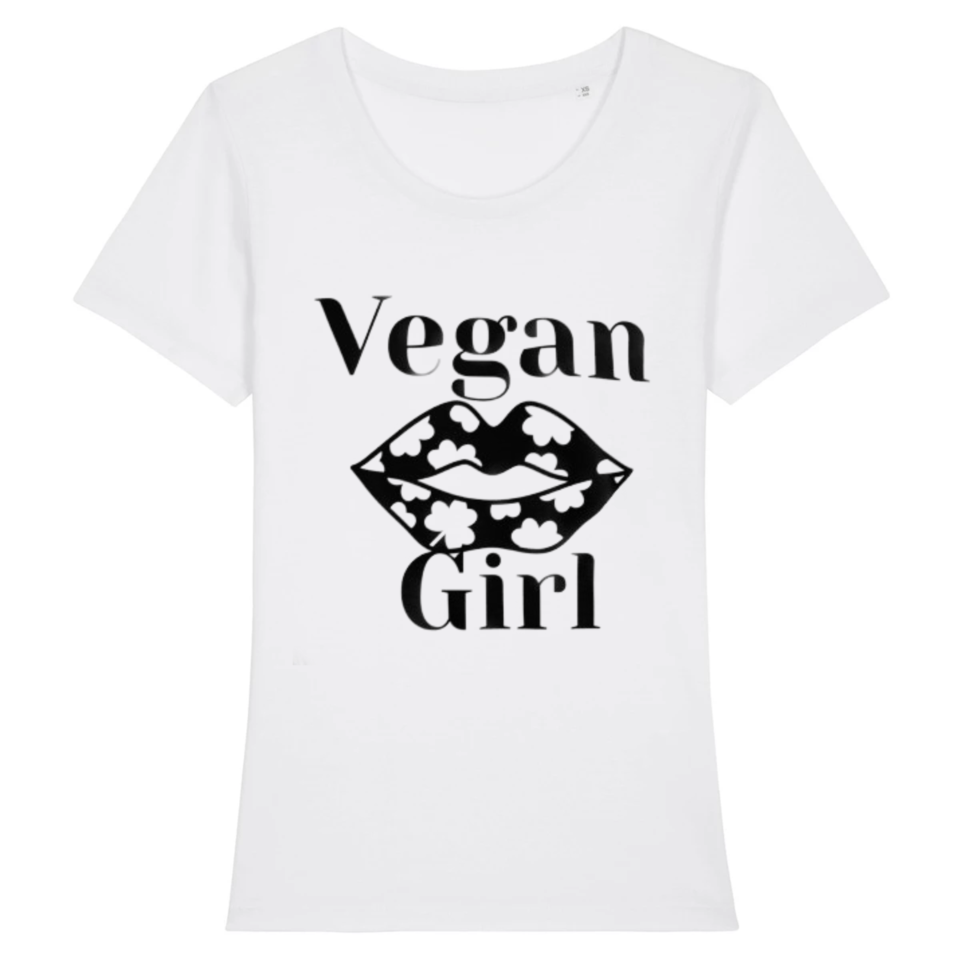 T shirt vegan Girl